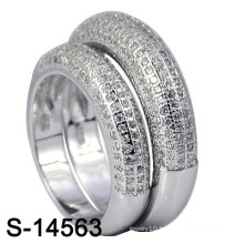 Fashion Jewelry 925 Sterling Silver Wedding Ring (S-14563. JPG)